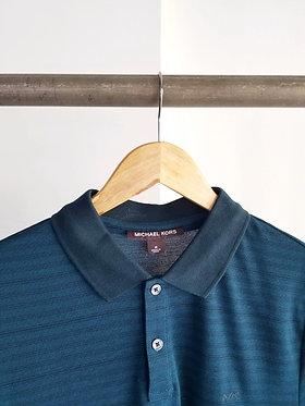 Michael Kors Striped Midnight Polo Shirt