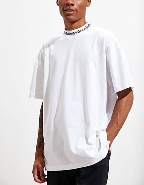 UO High Neck White Tee
