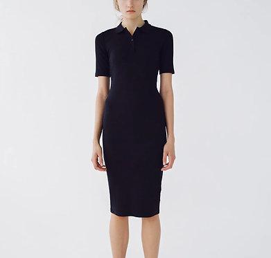 ZARA Black Polo Neck Dress