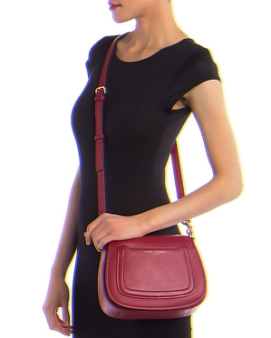 Marc Jacobs Empire City Mini Messenger Crossbody Bag Wine