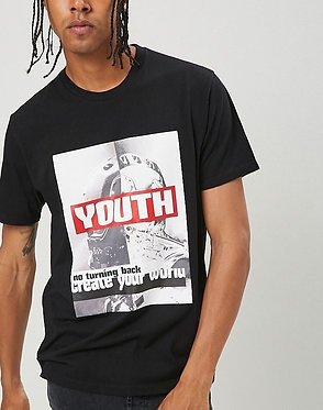FOREVER21 Men's Youth Graphic Tee