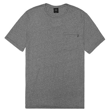 HUF // Premium Mock Twist Pocket Charcoal T-Shirt