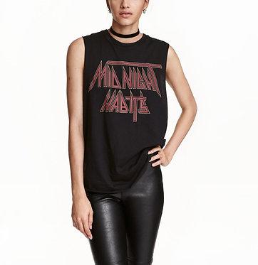 H&M Top with Printed Motif