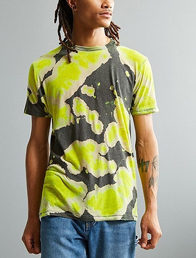 Burnout Dye Tee by Urban Outfitters