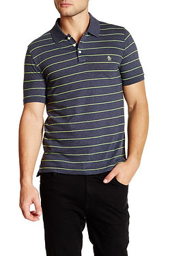 Original Penguin Neon Stripe Polo Shirt