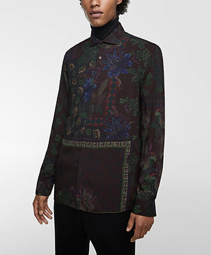 ZARA MAN Floral Print Shirt