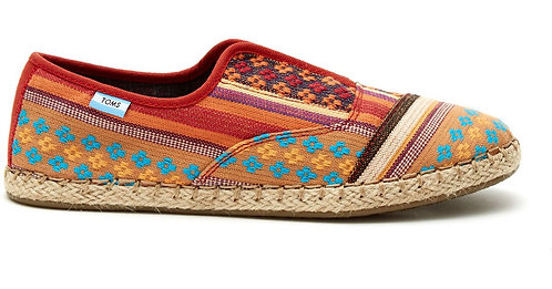 TOMS Women's Cayenne Tribal Palmera Slip on