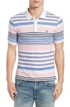 Original Penguin Mix Striped Slim Fit Polo
