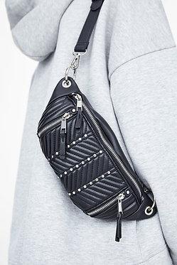 ZARA Belt Bag with Zippers