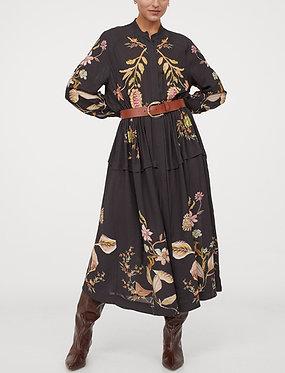 H&M Printed Shirt Dress
