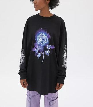 NEW girl ORDER Long Sleeve T-Shirt Dress