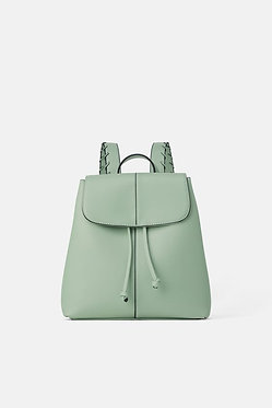 ZARA Mint Backpack with Eyelets