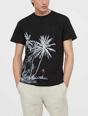 H&M Men's T-shirt with Printed Motif