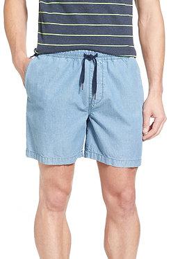Original Penguin Ripstop Cotton Drawstring Shorts