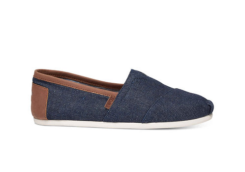 TOMS Men's Dark Denim Classics