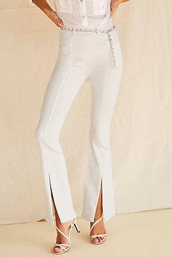 FOREVER 21 Split Flare Jeans
