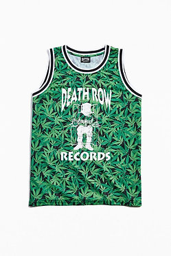 Death Row Records Mesh Basketball Jersey