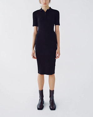 ZARA Black Polo Neck Dress