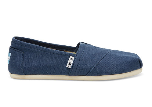 TOMS Navy Women's Canvas Classics