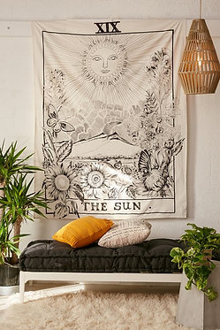 "Urban Outfitters Tarot Tapestry ""The Sun"""