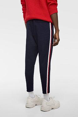 ZARA MAN Chino Pants with Side Stripes