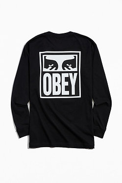 OBEY Eyes Icon Long Sleeve Tee
