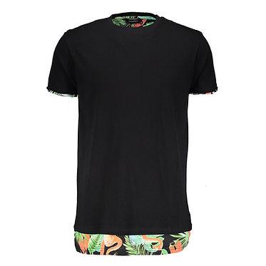 ELEVENPARIS Black Dokati M T-shirt