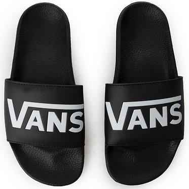 VANS Slide-On Vans Black/White