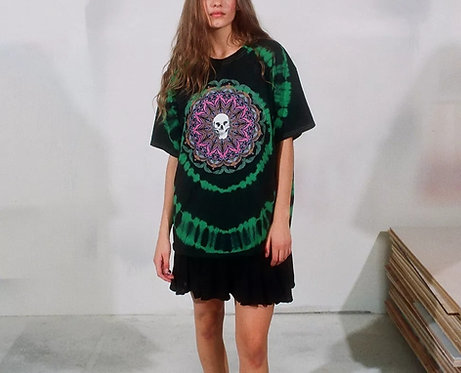 UO Truth Speaks Tie-Dye T-Shirt Dress
