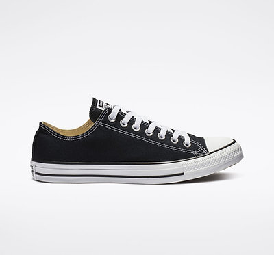 CONVERSE Chuck Taylor All Star Black Low Top Sneakers