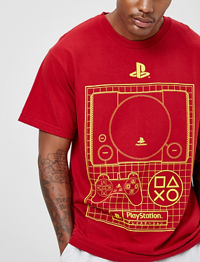 FOREVER21 Men's PlayStation Graphic Tee