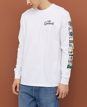 H&M Men's The Simpsons Long-sleeved Jersey Shirt