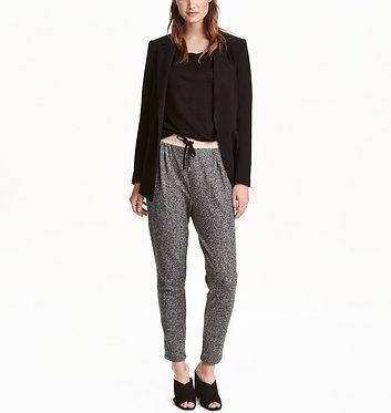 H&M Dark Gray Melange Joggers