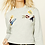 Thumbnail: FOREVER 21 Rocket Patch French Terry Top