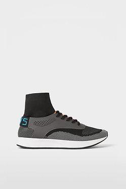 ZARA MAN Gray High Top Sneakers