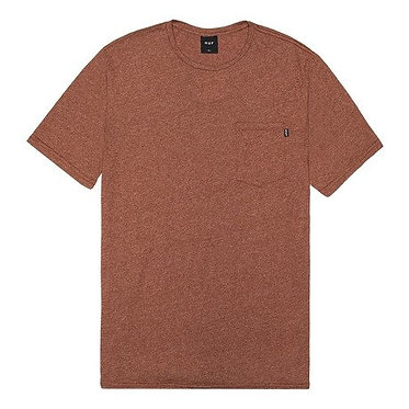 HUF // Premium Mock Twist Pocket Rust T-Shirt