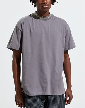 UO High Neck Grey Tee
