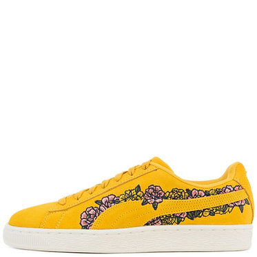 PUMA Women's Suede Tol Embroidery Sneakers