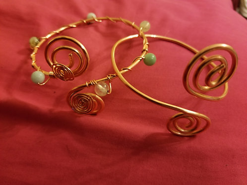 Copper Cuff Bracelet/Arm Cuff