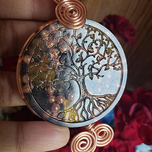 Tree of Life Orgone Medallion