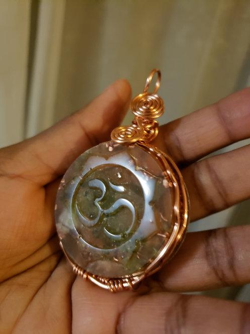 Om Orgone Medallion