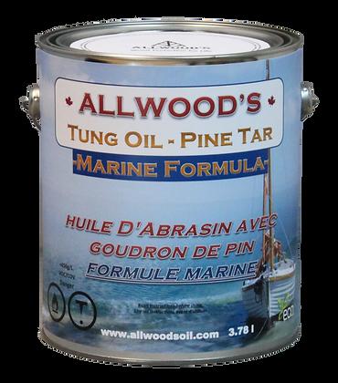 1 gal. Marine Formula, Tung oil - Pine tar finish