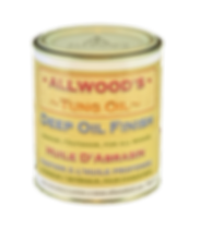 Oil finish for wood