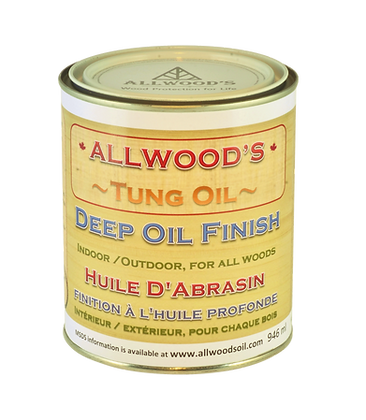 Deep Oil Finish  1 quart - 946 ml
