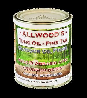 Deck oil, Tung oil finish