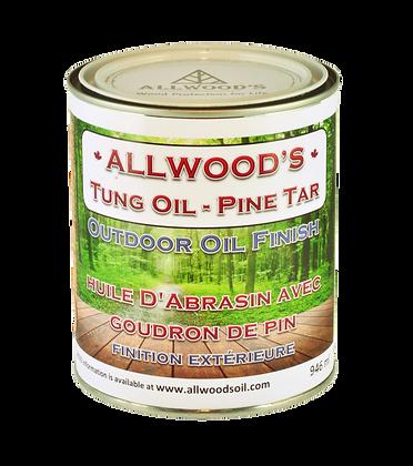 Outdoor Oil Finish 1 quart - 946 ml