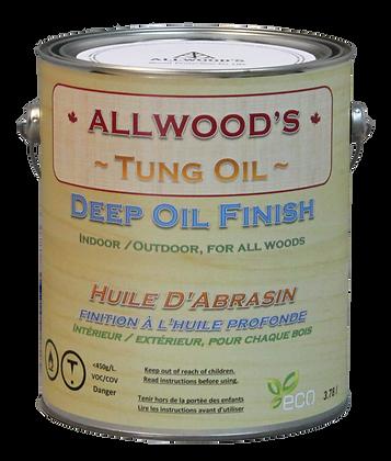 1 gal. Tung Oil, Deep Oil finish