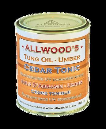Cedar Tonic 1 quart - 946 ml