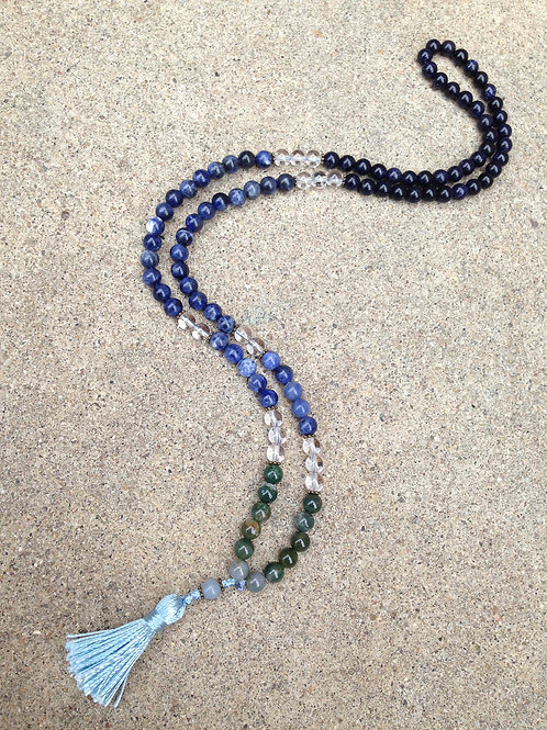 Earth Ocean Sky Meditation Mala