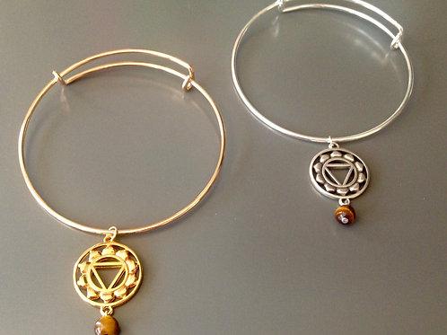 SOLAR PLEXUS Chakra Bangle Bracelet